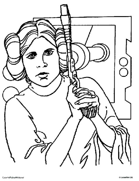 Princess Leia Coloring Pages Az Coloring Pages Princess Leia Drawings Free Coloring Sheets