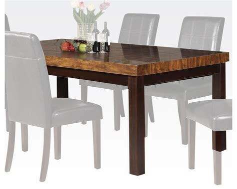 acme dining table acme furniture contemporary dining table deisy ac71055