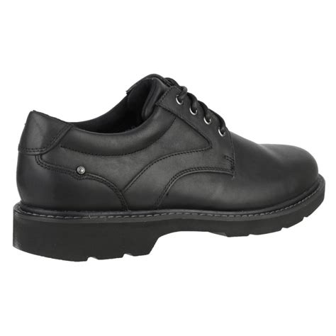 rockport charlesview lace up s black shoes free