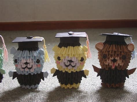3d origami teddy bear tutorial 3d origami graduation bear google search 3d origami