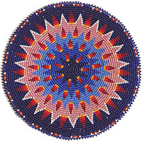 beaded rosette patterns kq designs american beadwork powwow regalia and