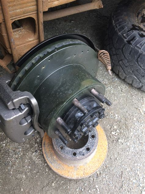 parking brake backing plate installation with pictures