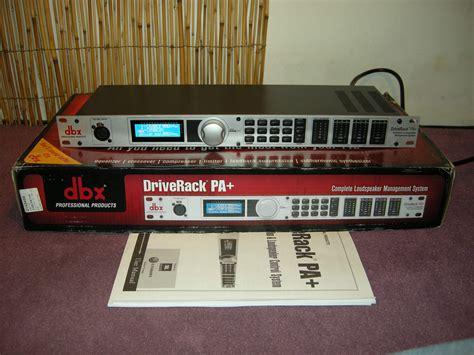 Drive Rack Pa by Dbx Driverack Pa Image 187614 Audiofanzine