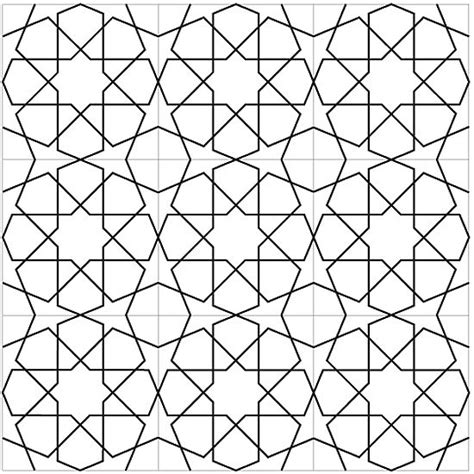 islamic pattern shapes islamic geometric designs step by step drawing