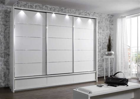 Manhattan Sliding Door Wardrobe 250cm With Drawer Blue Bedroom Furniture Wardrobes Sliding Doors