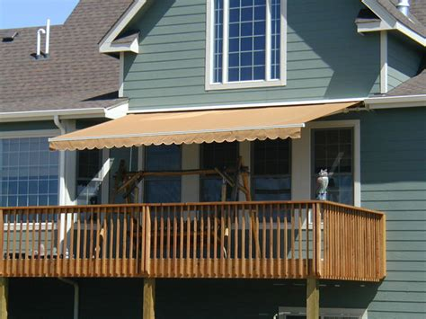 awning over deck msta residential awnings