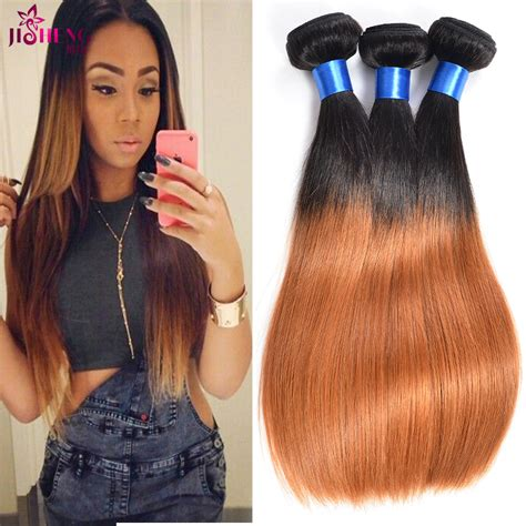 ombre human braiding hair hot sale grade 7a unprocessed virgin malaysian straight
