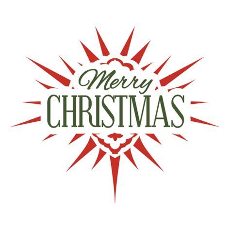 etiqueta tipografica de feliz navidad descargar pngsvg transparente