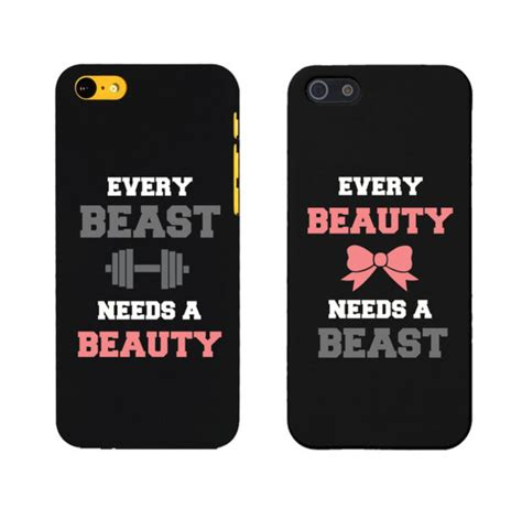 Phone For Couples Phone Cover And Beast And The Beast