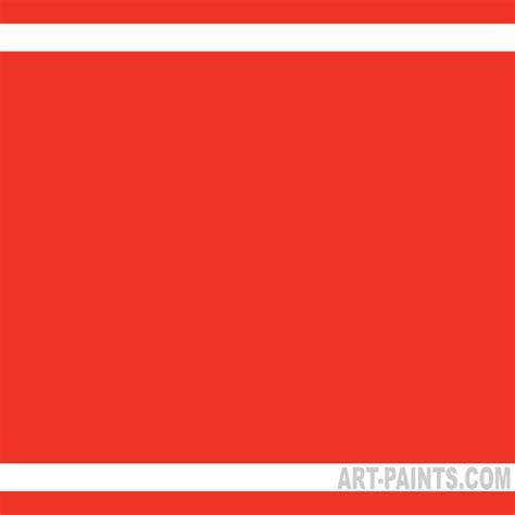 vermilion color vermilion acrylic paints 393 vermilion