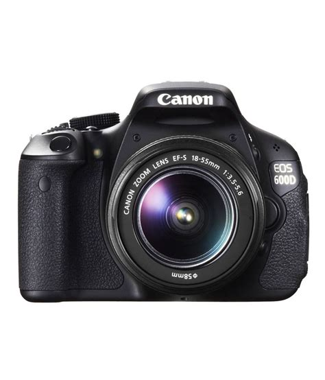 canon eos 600d canon eos 600d with 18 55mm lens price in india buy canon