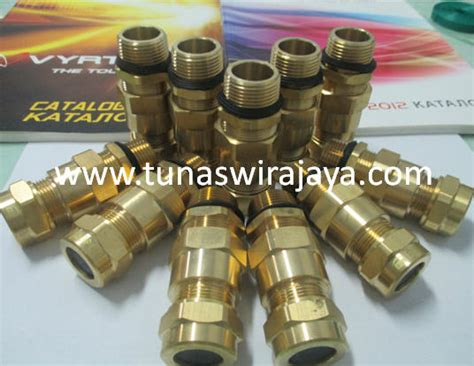 Cable Gland Explosion Proof Cmp M25 Brass Nickle Plated pt tunas wirajaya telp 021 87755866 cable gland explosion proof cable gland explosion proof