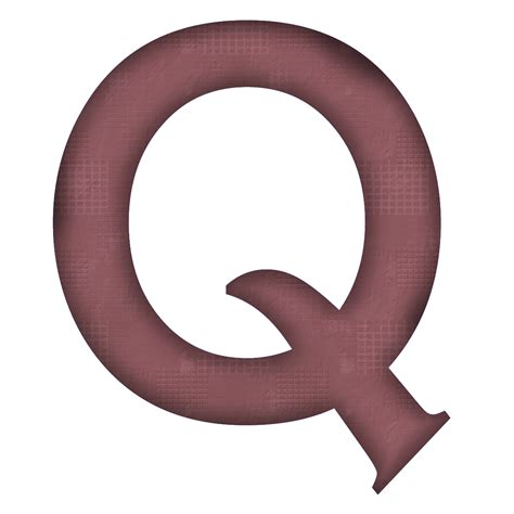 B1 Q Q Digi enchanted s free textured dk mauve digi scrapbook alphabet