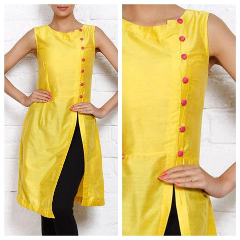 kurti pattern for stitching front slit a line kurti salwar kameez marking cutting