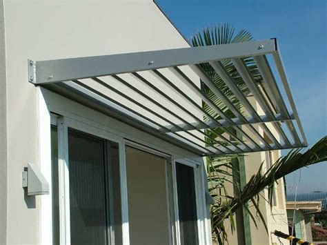 Aluminium Shade Awnings by Cantilevered Awnings Are The Modern Sleek Design Of Todays