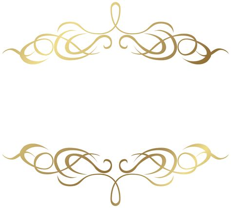 decorative pattern png transparent gold elenets png image gallery yopriceville
