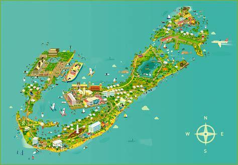 bermuda map maps update 802445 bermuda tourist map bermuda tourist
