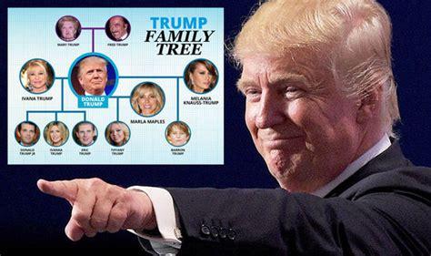 donald trump family tree donald trump family who are ivanka melania tiffany