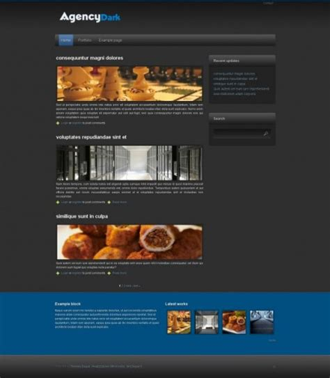 themes drupal free 100 best free drupal themes creativefan