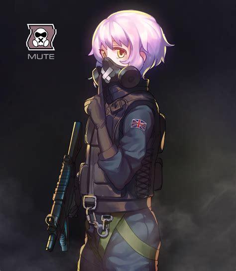 X Anime Siege rainbow six anime rainbows anime and guns