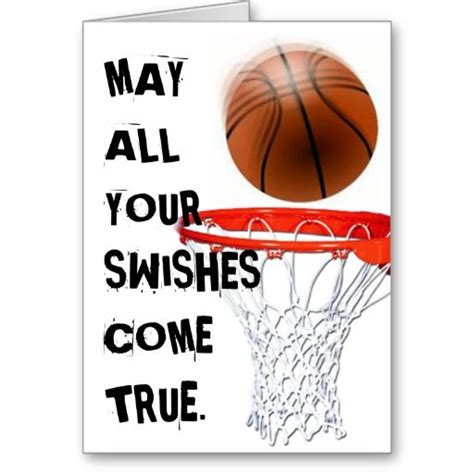 Basketball Birthday Card Templates by Basketball Birthday Greeting Card Greeting Cards