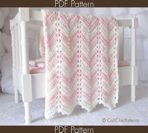 soft cream zigzag crochet baby blanket pattern 32 best crochet paid patterns images on pinterest craft
