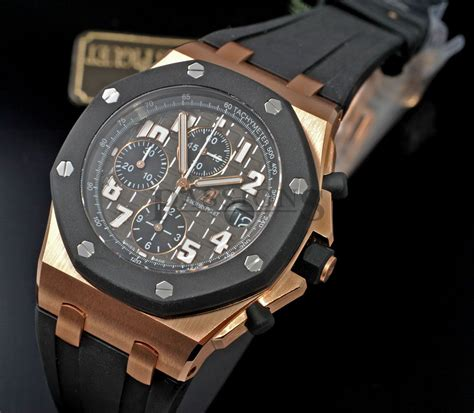 audemars piguet 42mm quot royal oak shore quot rubber clad