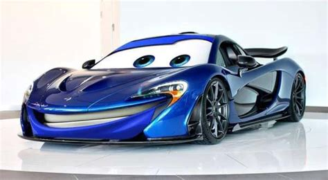 film carton balap mobil mclaren p1 jadi lighting mcqueen okezone news
