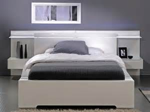 Savoy white gloss light headboard amp storage bed free delivery