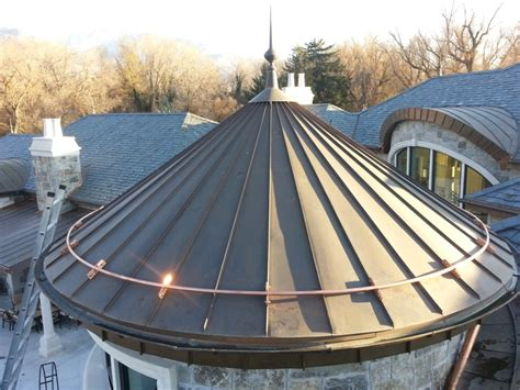 metal roof turret fine metal roof tech