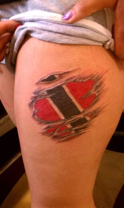 trinidad tattoo designs flag flag tattoos