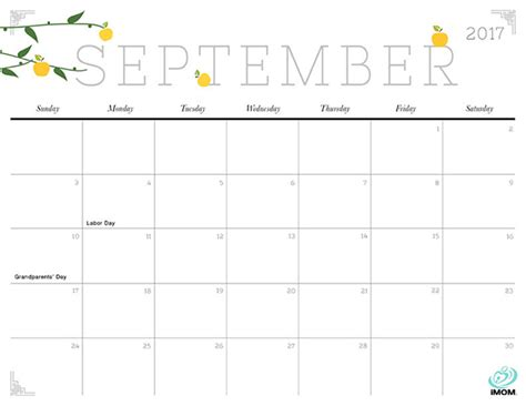 printable calendar pretty cute and crafty 2017 printable calendar imom