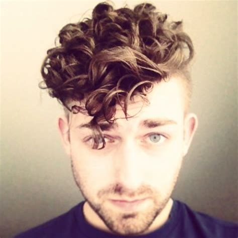 boys permed hair styles undercut perm menshair waves gay nails hair