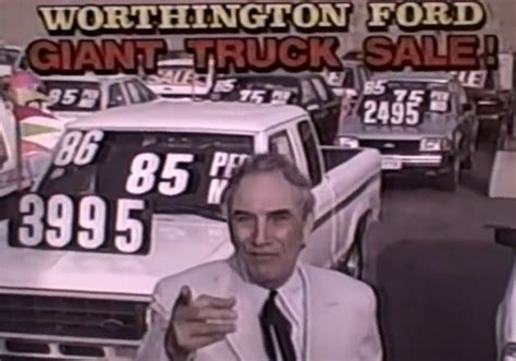 Cal Worthington Ford by Check Out A Classic Cal Worthington 90s Used Ford Ad