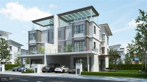 4 story houses 3 storey apartment design philippines modern house