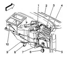 96 toyota camry air conditioner duct diagram repair guides blend door actuator removal
