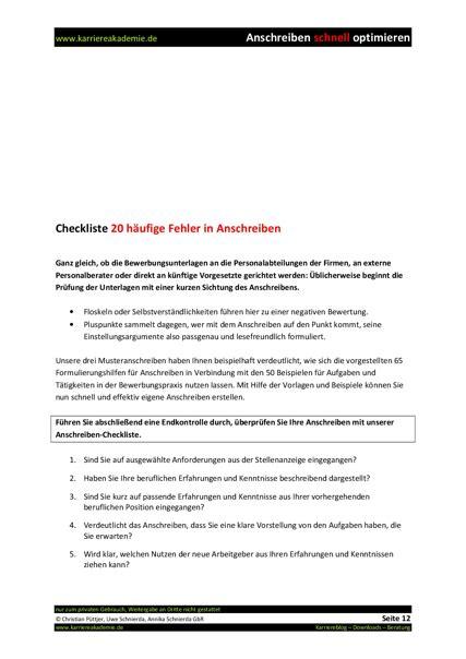 Anschreiben Checkliste 3 X Anschreiben Krankenschwester Krankenpfleger Karriereakademie