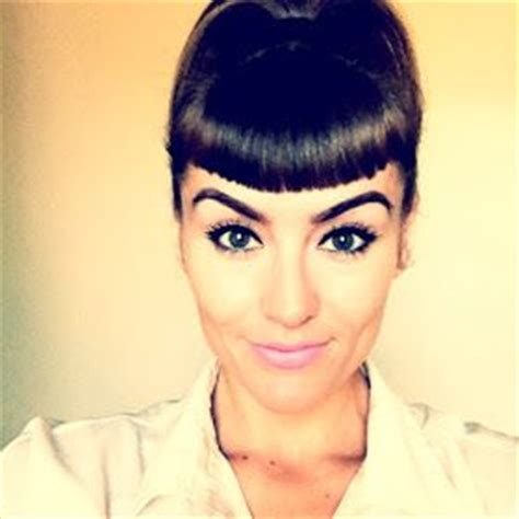 get your brows on betty bangs on pinterest
