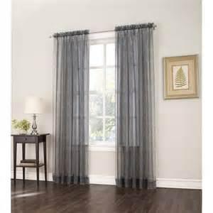 gray curtains walmart s lichtenberg joslyn zebra print sheer voile curtain