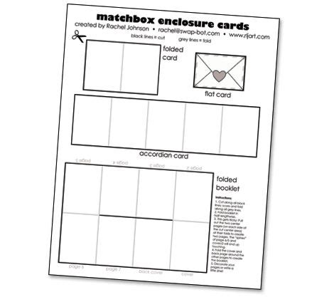 free printable enclosure card templates the world s catalog of ideas