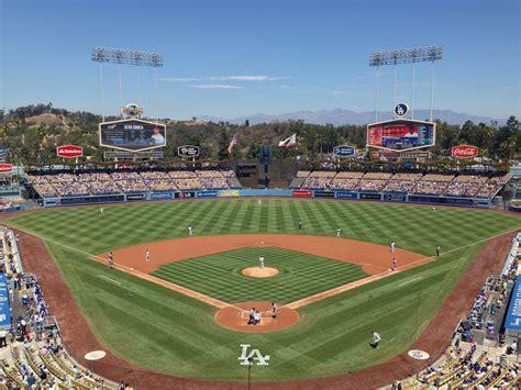 dodger stadium los angeles dodgers ballpark ballparks  baseball