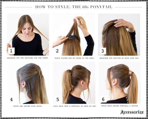 how to do sixties hairstyles hair tutorials 15 simple easy hairstyles you should not