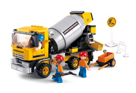 Sluban Small School M38 B0507 sluban cement mixer m38 b0550 sluban compatible with other wellknown brick brands