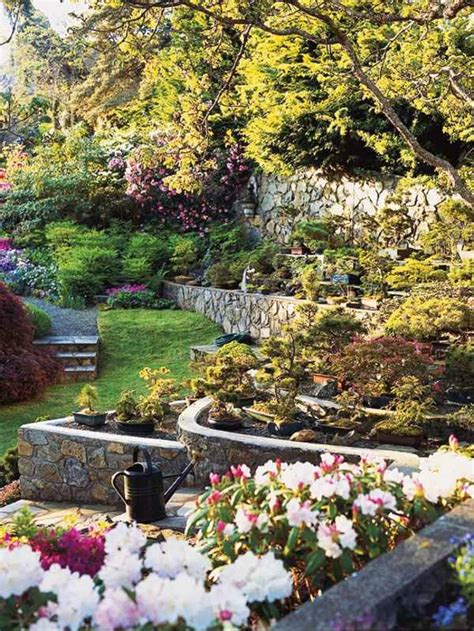 Hillside Gardening Ideas Landscaping On A Slope How To Make A Beautiful Hillside