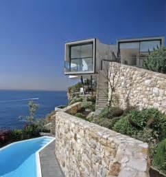 maison contemporaine en bord de mer