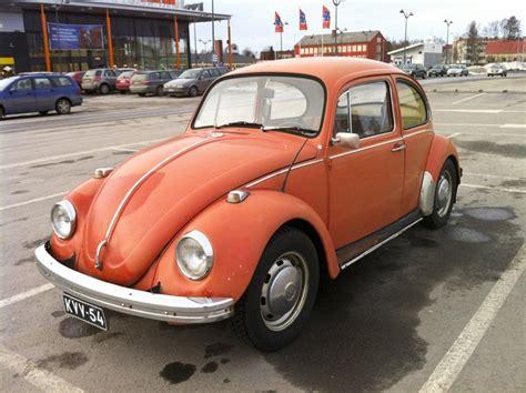 volkswagen orange orange peel 1971 volkswagen beetle 1300 hooniverse