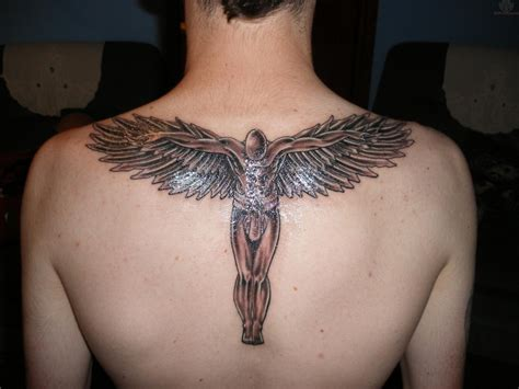 angle tattoos for men angle brown s back tattoomagz