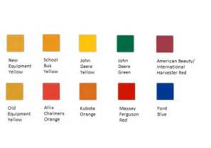 krylon color chart krylon farm implement paint