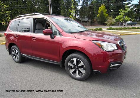 subaru forester red 2017 subaru forester exterior photo page 1