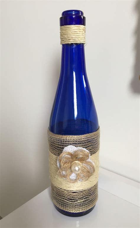 garrafas decoradas sisal 43 best images about garrafas decoradas on pinterest